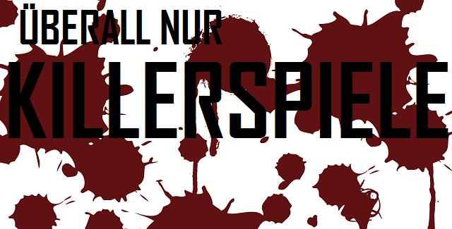 Überall nur Killerspiele - logo
