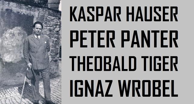 Kaspar Hauser - Peter Panter - Theobald Tiger - Ignaz Wrobel - Logo