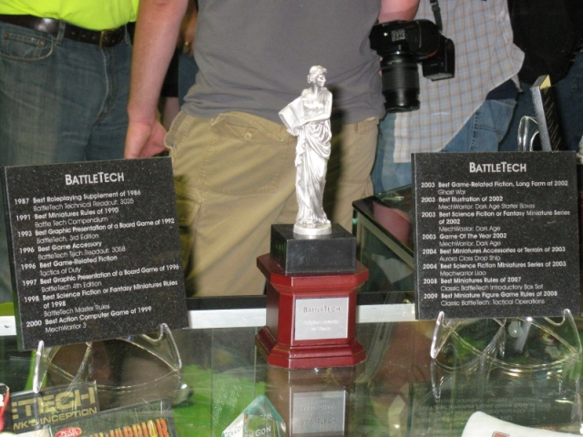 Battletech Award List