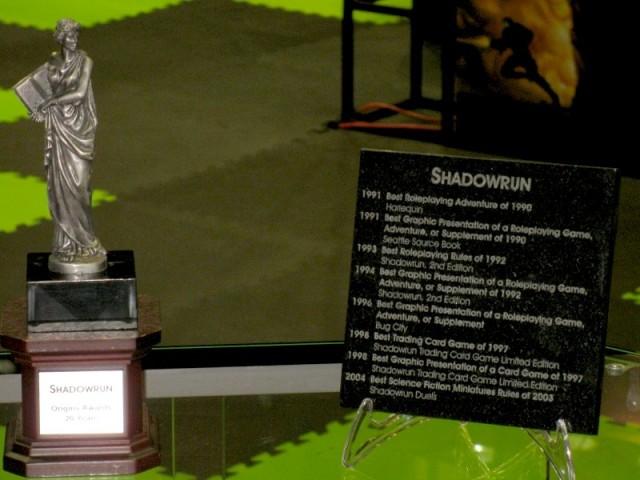 Shadowrun Award List