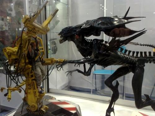 Alien vs Exoskelett