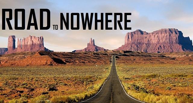 Road to nowhere - Logo