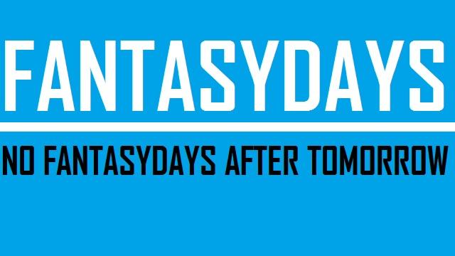 FantasyDays - No FantasyDays after tomorrow - Logo