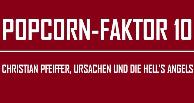 Popcorn-Faktor 10 - Logo