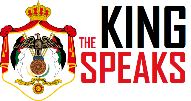 The King speaks - Logo
