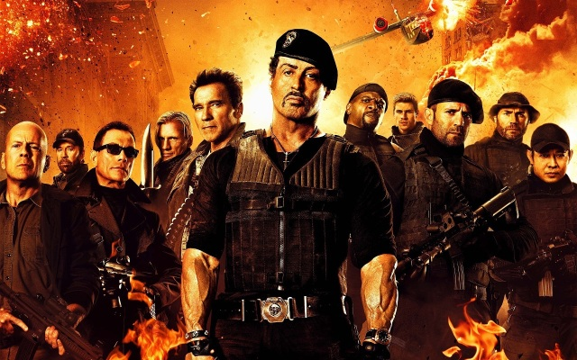 The Expendables 2 - Chracters