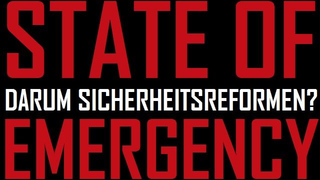 SoE - Darum Sicherheitsreformen - Logo