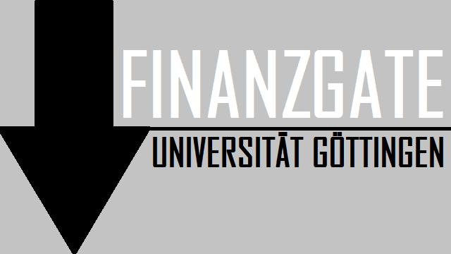 Finanzgate Uni Göttingen - Logo