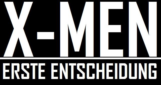 X-Men Erste Entscheidung - Logo