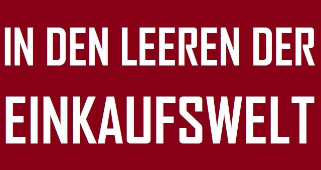 Leeren Einkaufswelt - Logo