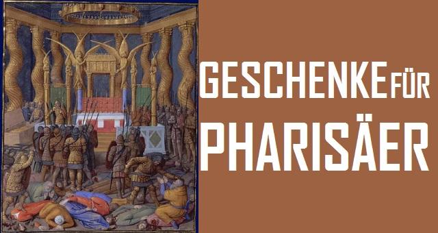 Geschenke für Pharisäer - Logo