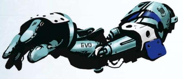 EVO Cyberarm - Shadowrun 4