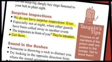 Tarquin's Tips
