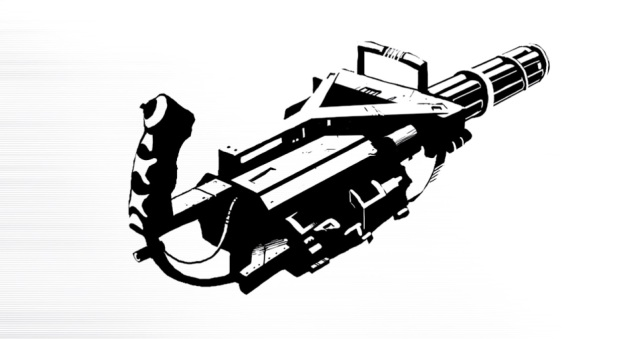 Minigun - SR4