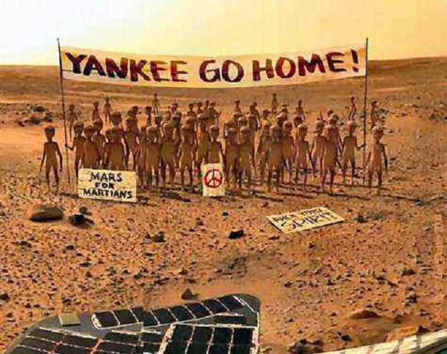 Mars Mission - First Pic