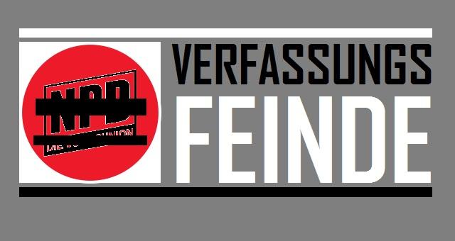 NPD - Verfassungsfeinde - Logo
