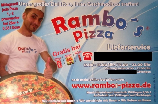 Rambos Pizza