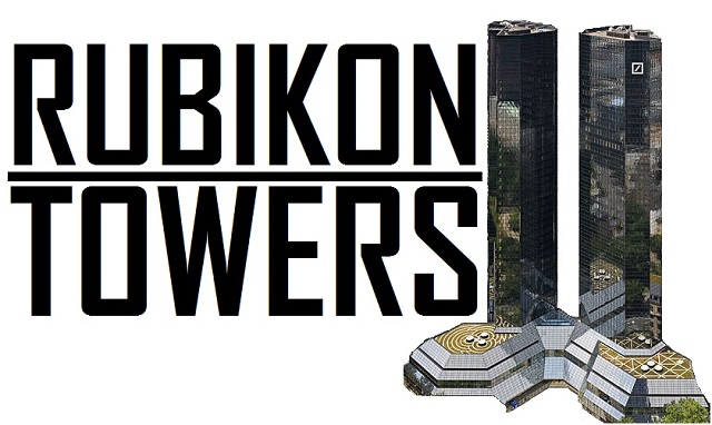 Rubikon Towers - Logo