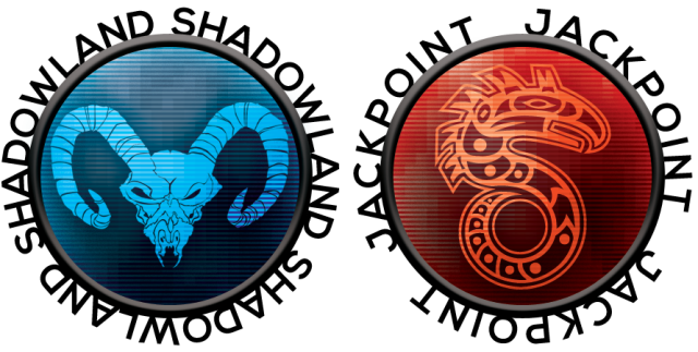 Shadowland und Jackpoint Icons