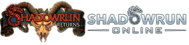 Shadowrun Returns und Online - Logos