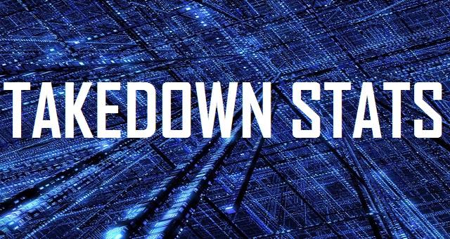 Takedown Stats - Logo