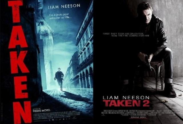 Taken 1-2 Poster