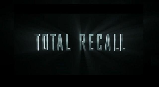 Total Recall 2012 - Logo