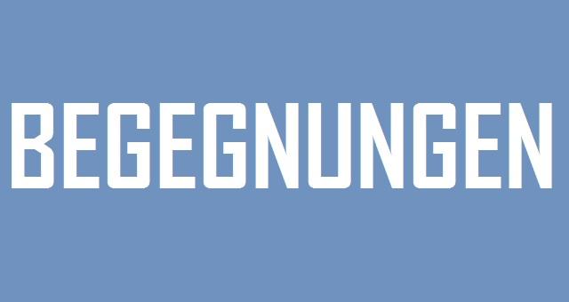 Begegnungen - logo