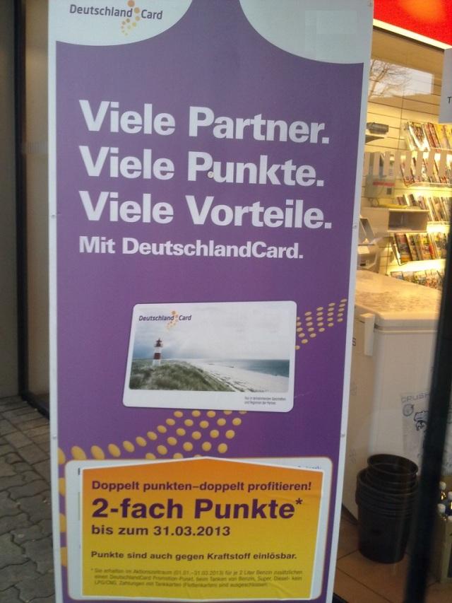 DeutschlandCard - Viele Partner viele Punkte01
