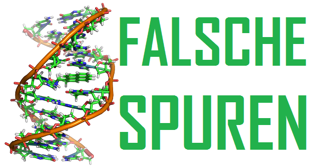 Falsche Spuren - Logo