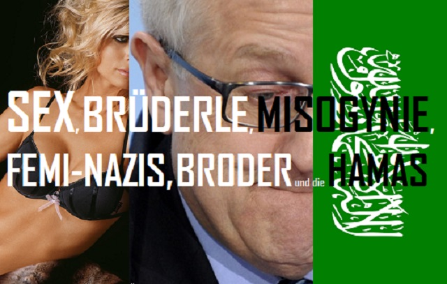 Sex, Brüderle, Misogynie, Femi-Nazis, Broder und Hamas - Logo