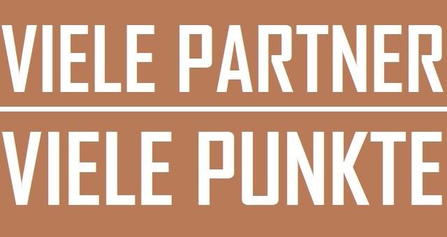 Viele Partner - viele Punkte - Logo