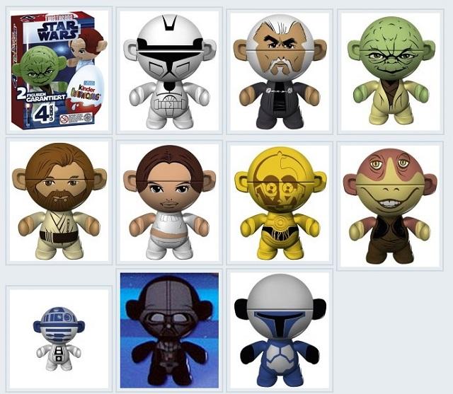 Ü-Ei Star Wars Figuren