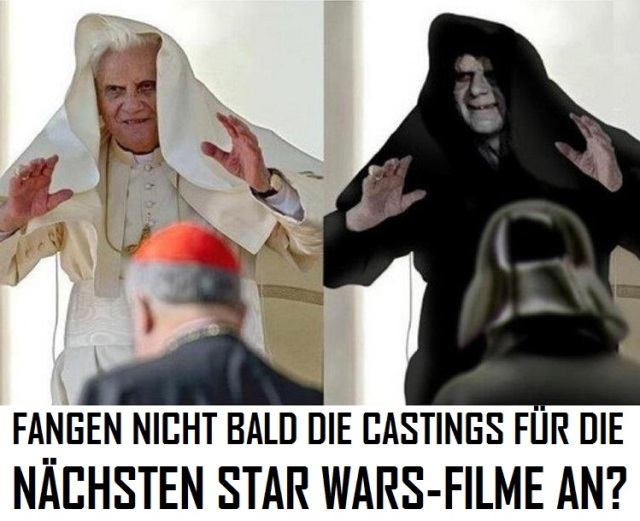 Papal Star Wars