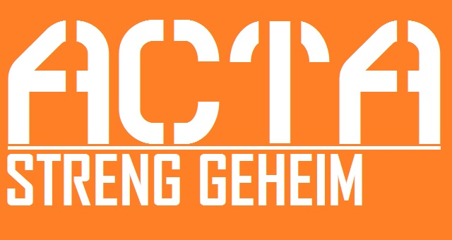 ACTA - streng geheim - Logo