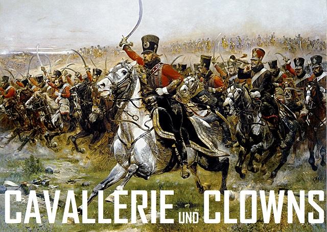 Cavallerie und Clowns - Logo