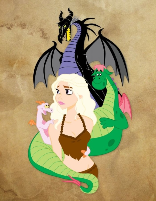 Disney GoT - Dragons