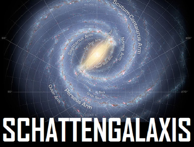 Schattengalaxis - mock-up logo