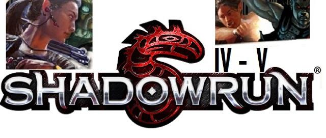 Shadowrun 4-5 mockup - Logo