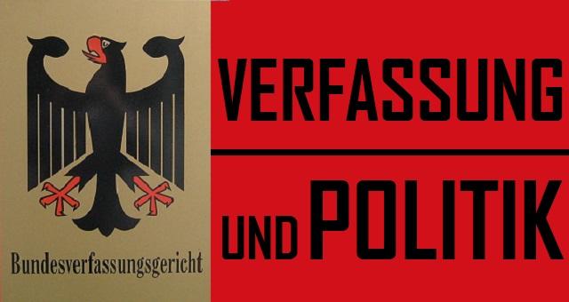 Verfassung und Politik - Logo