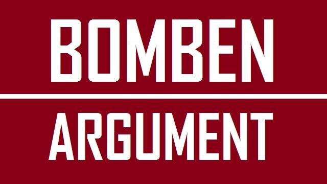 Bombenargument - Logo