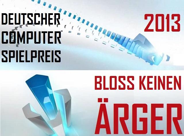 DCSP 2013 - Bloß keinen Ärger - Logo