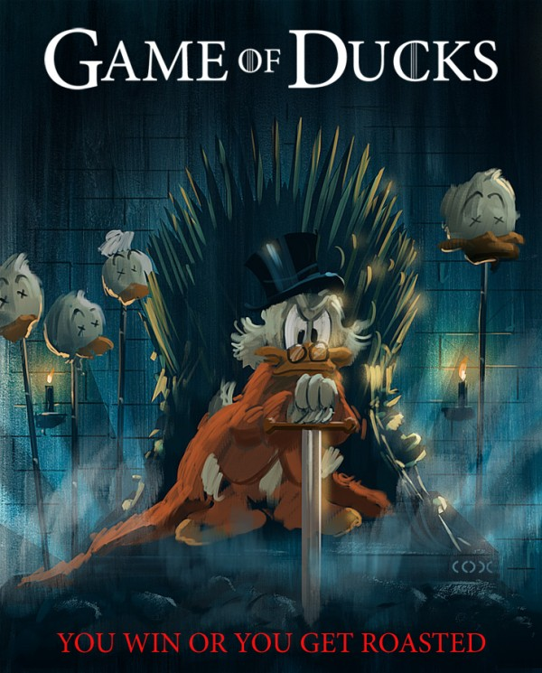 a game of ducks