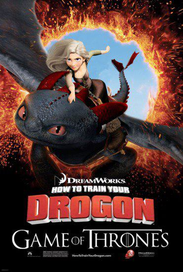 Drogon - Disney Game of Thrones