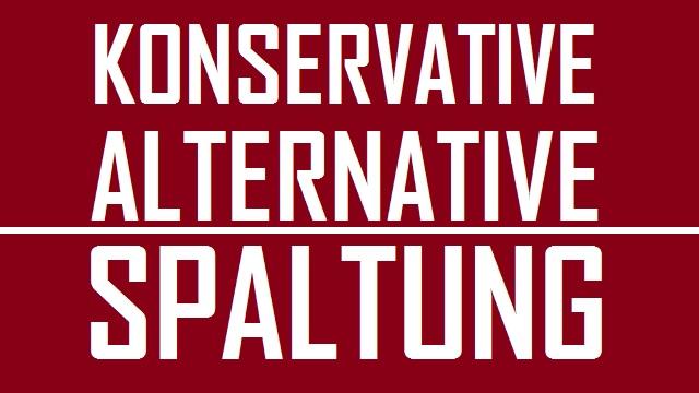 Konservative alternative Spaltung