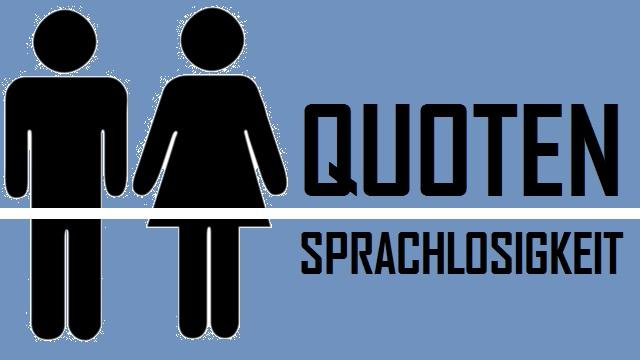 Quoten Sprachlosigkeit - Logo