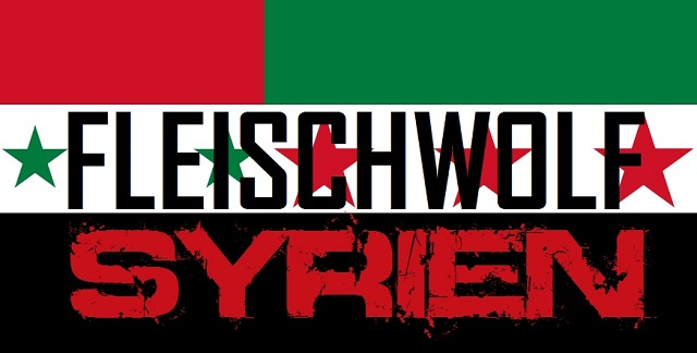 Fleischwolf Syrien - Logo