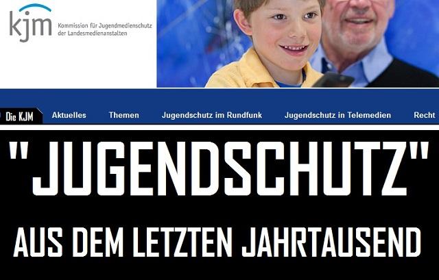 Jugendschutz aus dem letzten Jahrtausend - Logo