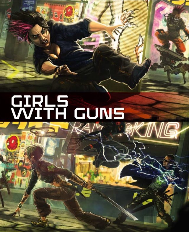 Shadowrun 5 - Preview 3 - Girls with Guns - full