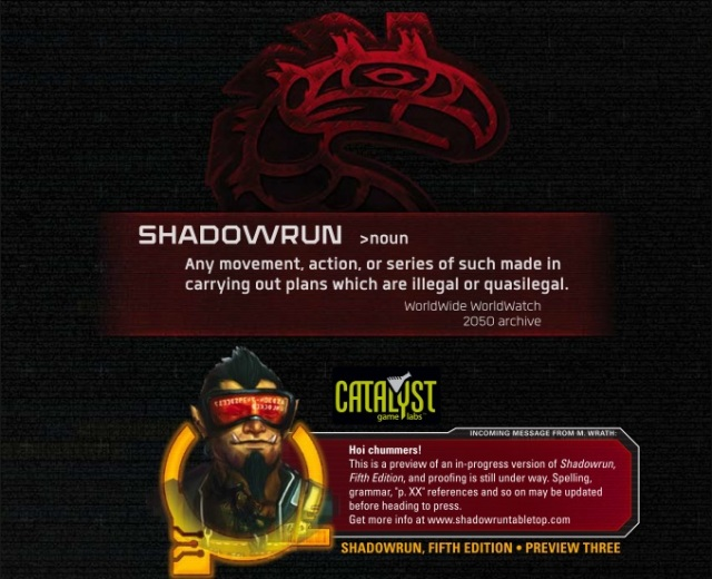 Shadowrun 5 - Preview 3 - Intro Pic
